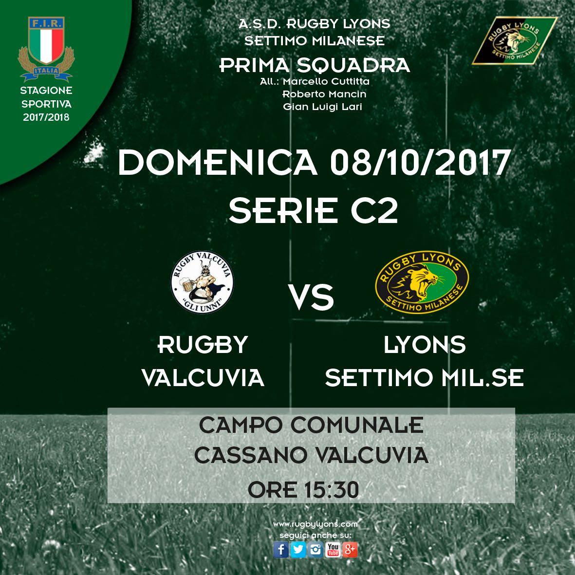 Seconda giornata Campionato  Serie C2