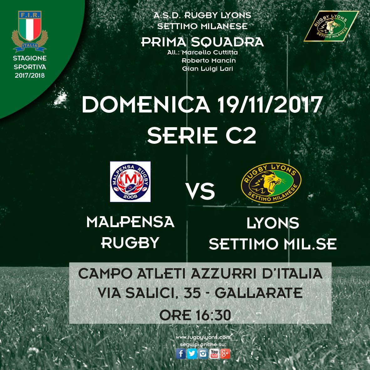Recupero partita 7a giornata Campionato Serie C2