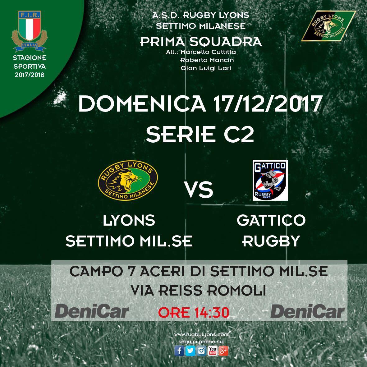 17/12/17 – Partita Prima Squadra campionato di serie C2