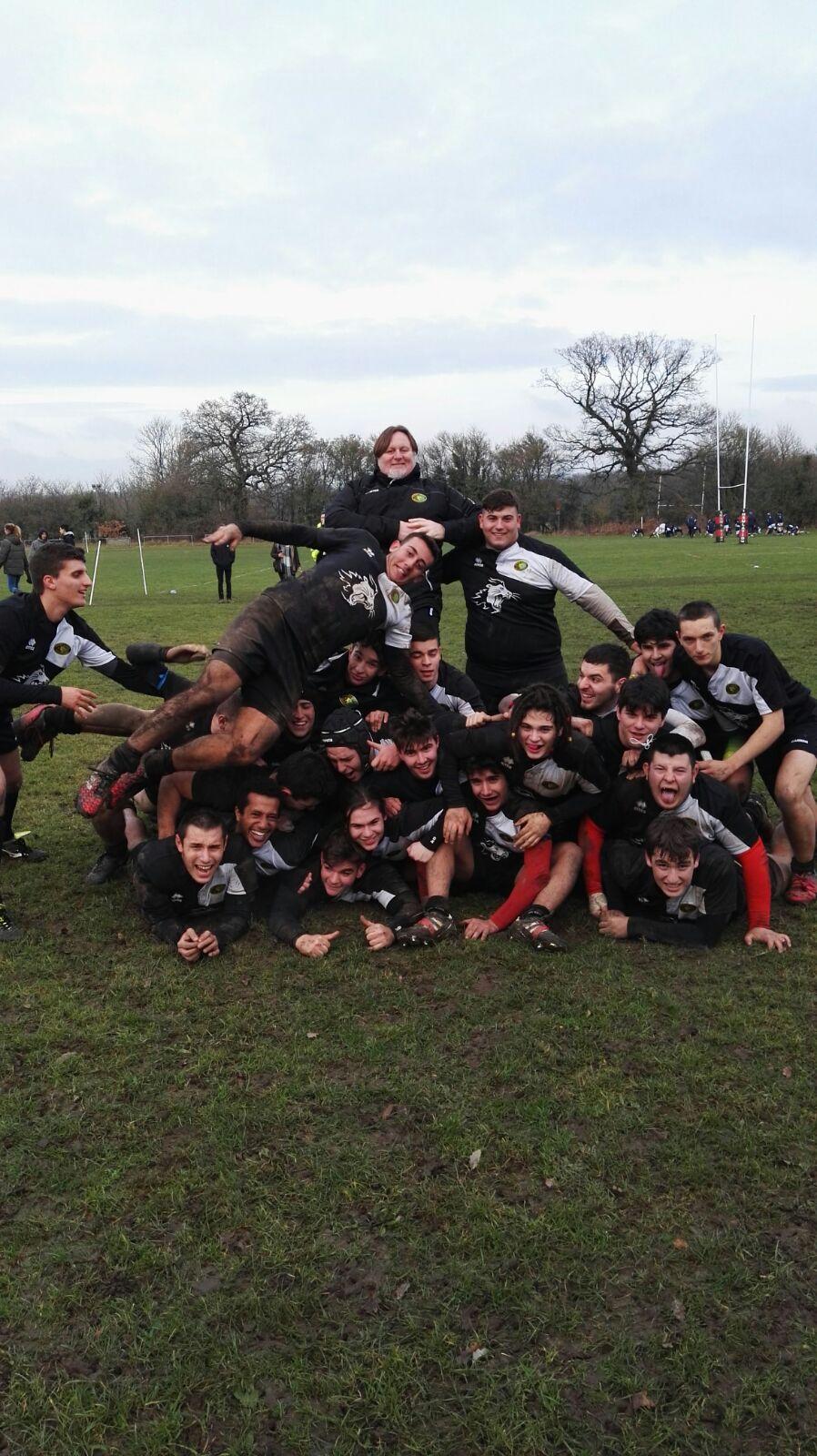 La Nostra Under18 in Inghilterra festeggia l'Epifania con una vittoria.