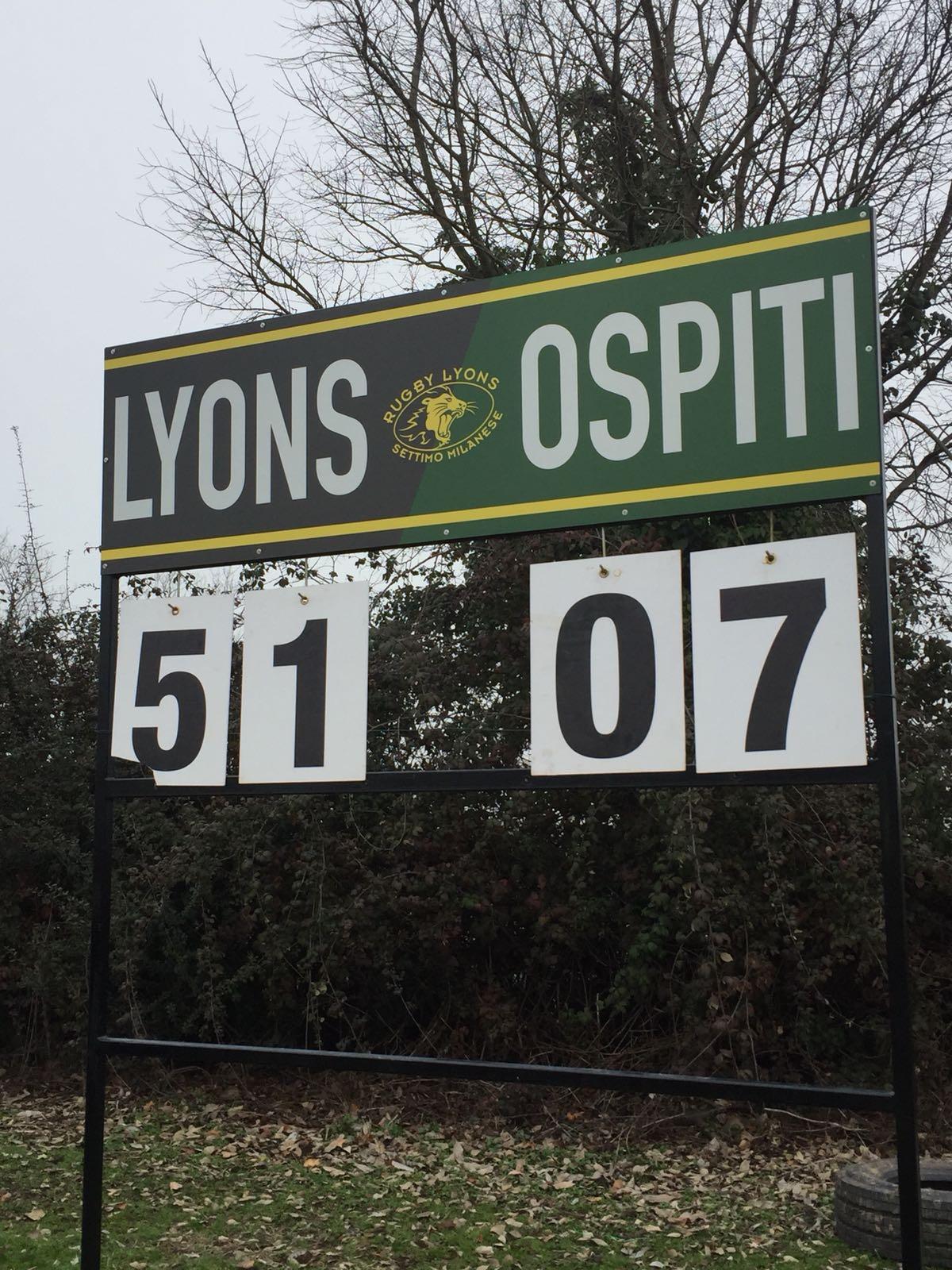 Nuova vittoria in C2 per i Nostri Leoni