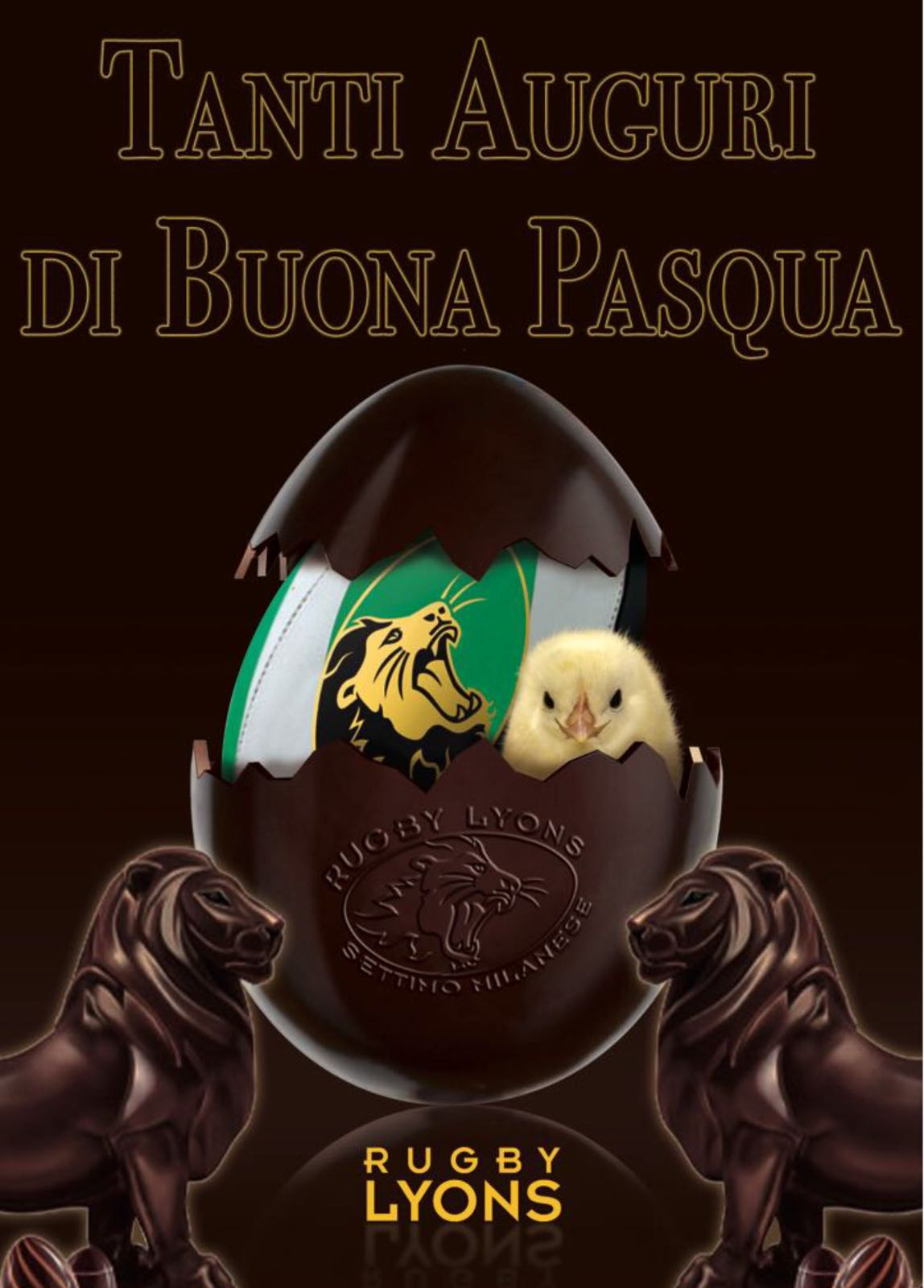 Il Rugby Lyons di Settimo Milanese Augura a Tutti una Buona Pasqua