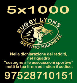 Rugby Lyons 5×1000