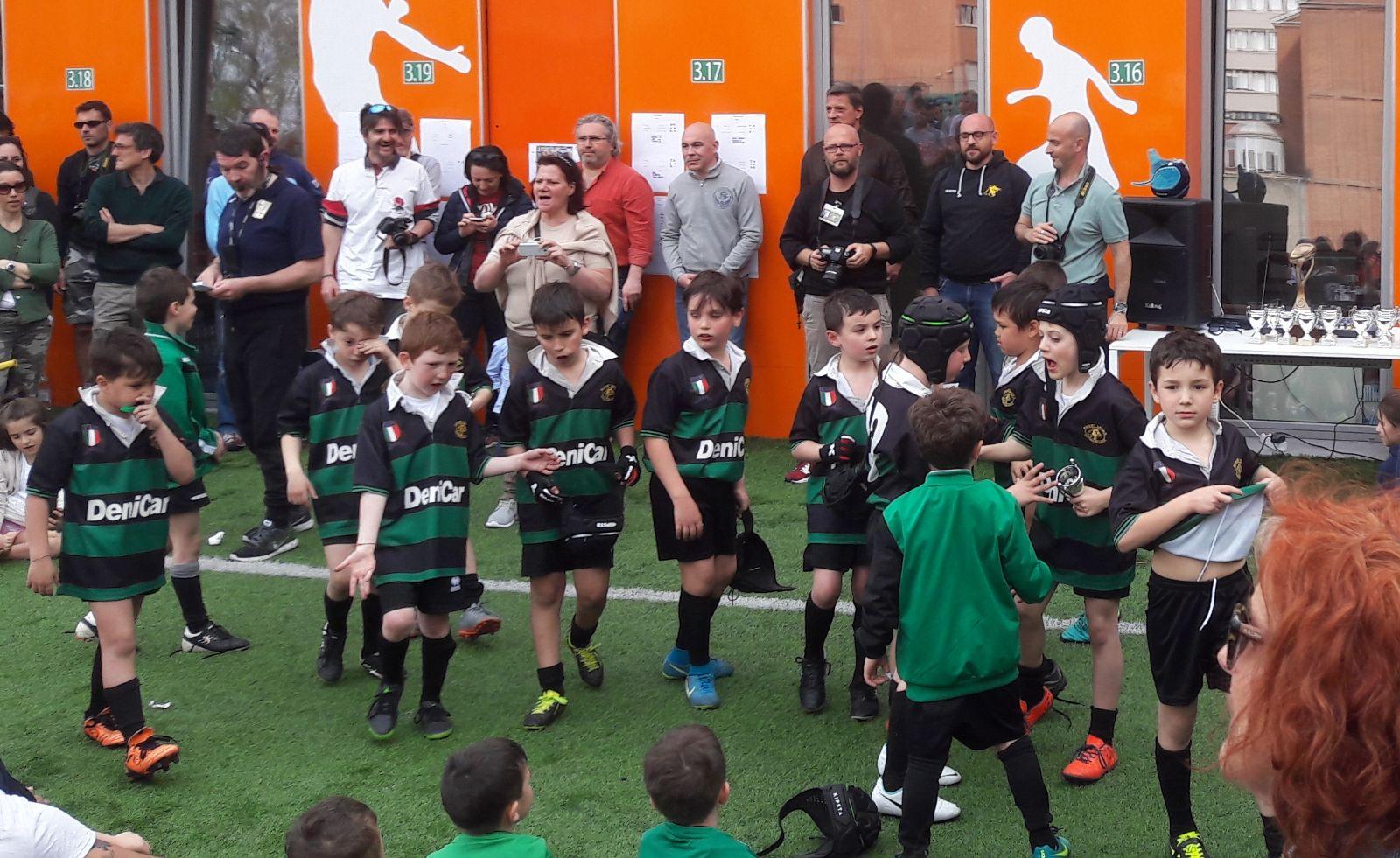 """I Leoni al Leone. Under 6 ed Under 8 al Leone XIII per il """"Trofeo Città di Milano""""."""
