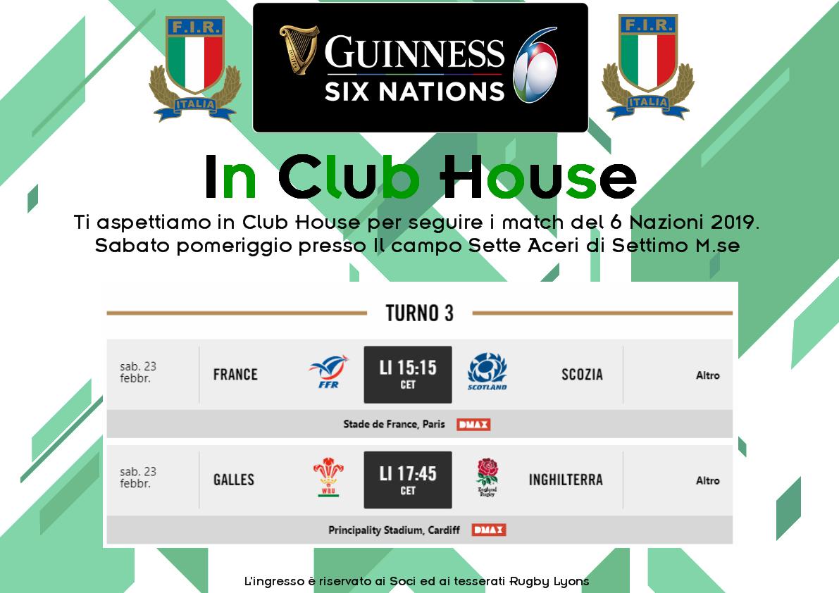 6 Nazioni in Club House