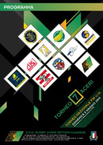 Domenica 5 Maggio 2019  al via il  5° Torneo Sette Aceri Super 14